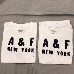 Buy 1 Get 1 FREE - Abercrombie & Fitch Basic Tees